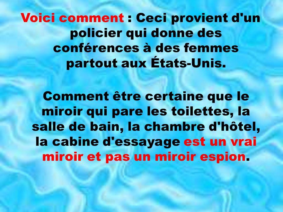 Miroir ou miroir espion ppt t l charger for Le miroir aux espions