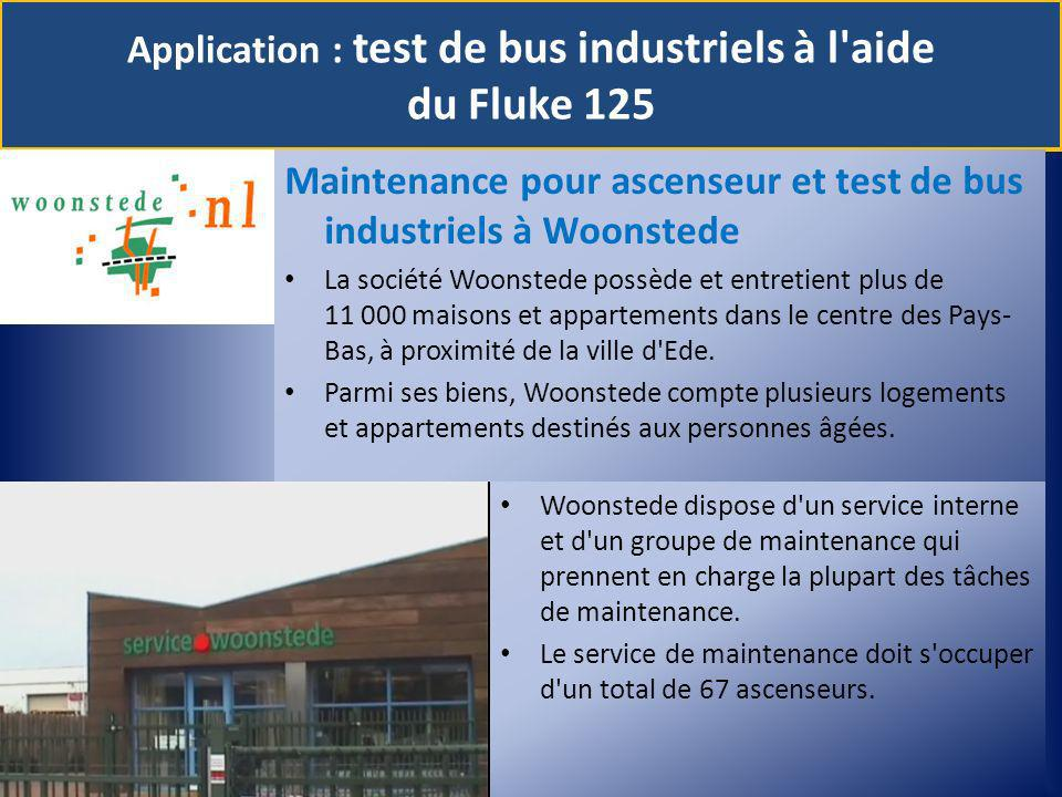 Application : test de bus industriels à l aide du Fluke 125