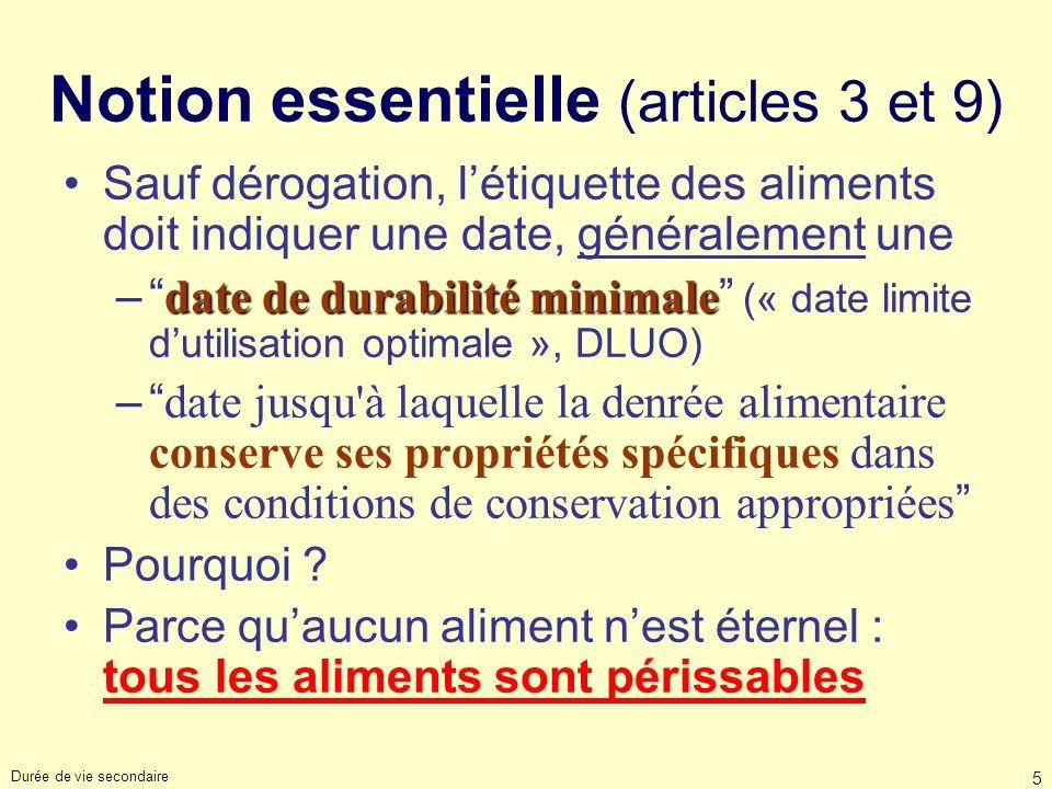 Notion essentielle (articles 3 et 9)