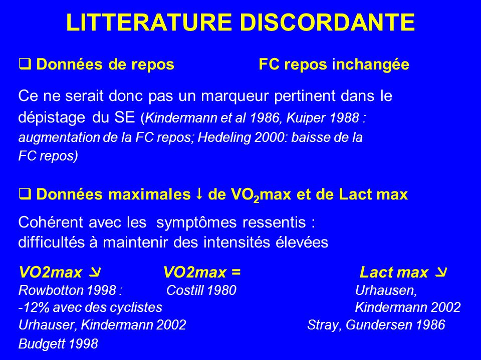 LITTERATURE DISCORDANTE