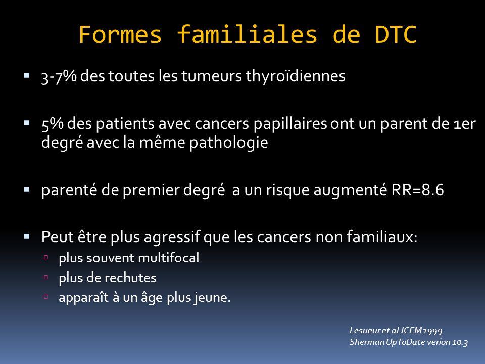 Formes familiales de DTC