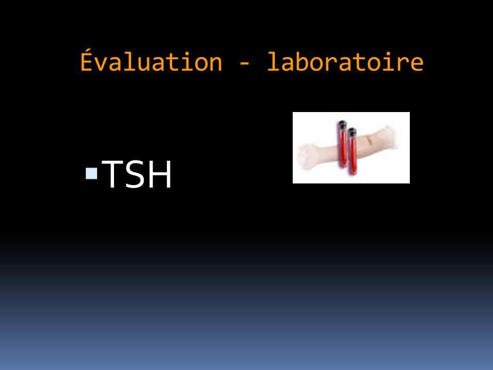 Évaluation - laboratoire