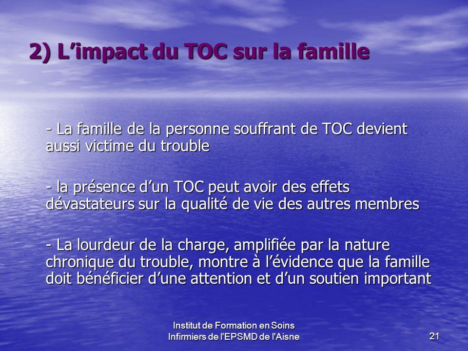 2) L'impact du TOC sur la famille