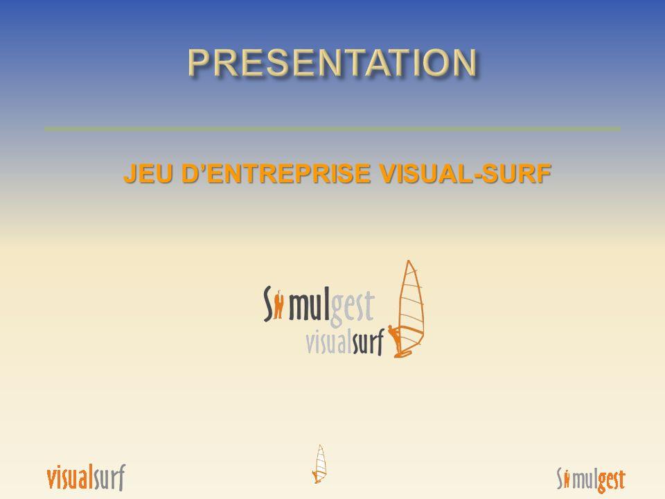 JEU D'ENTREPRISE VISUAL-SURF