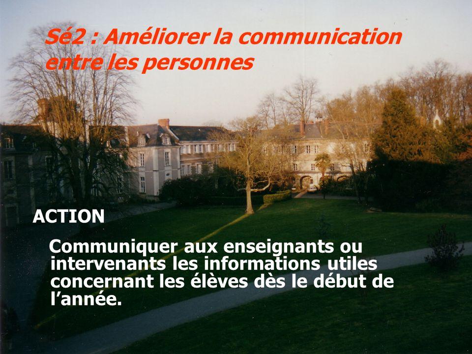 Sé2 : Améliorer la communication entre les personnes