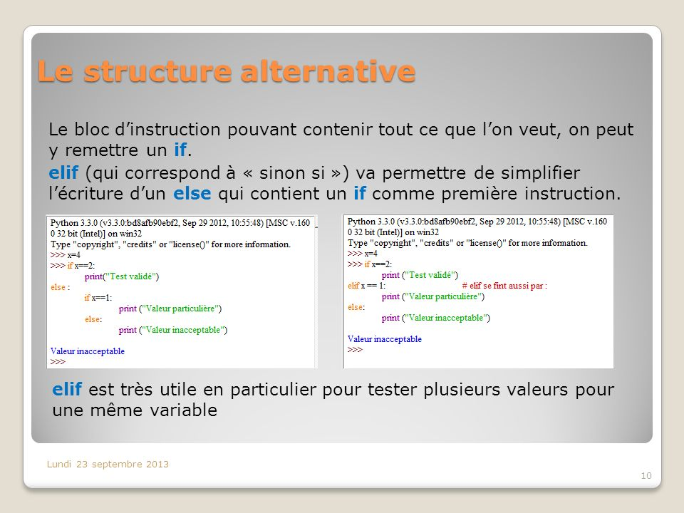 Le structure alternative