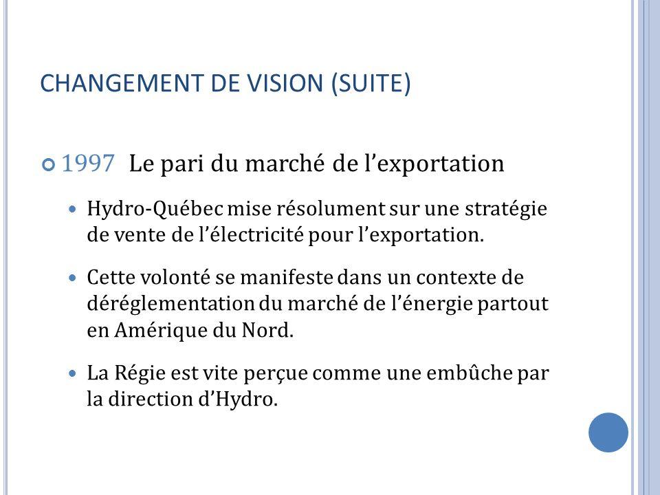 CHANGEMENT DE VISION (SUITE)