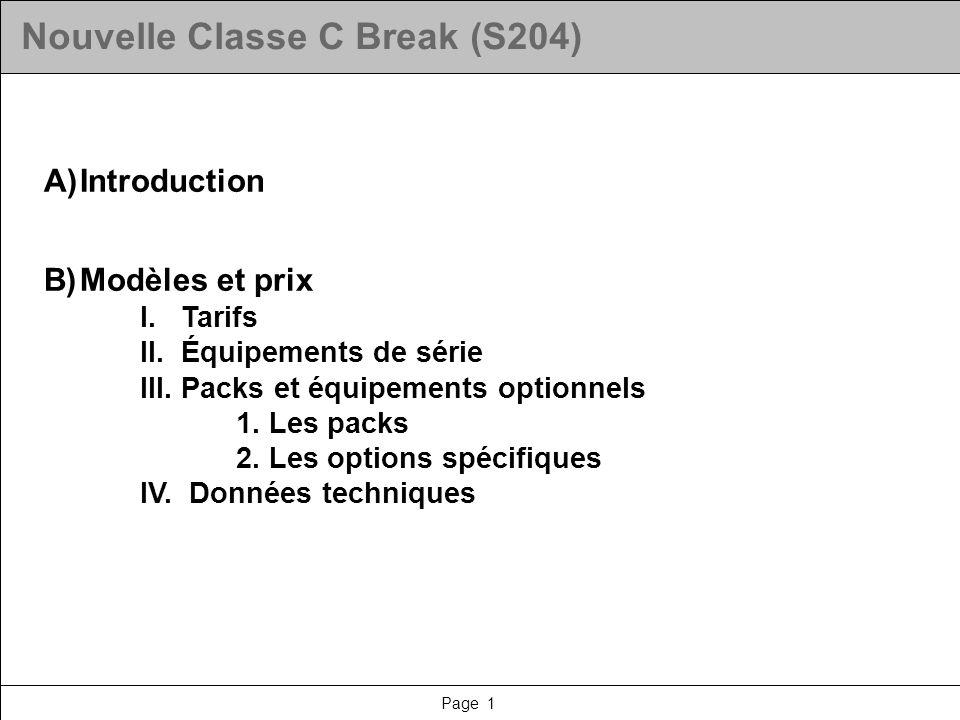 Nouvelle Classe C Break (S204)