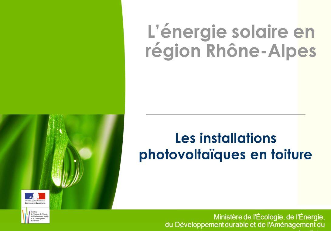 Les installations photovoltaïques en toiture