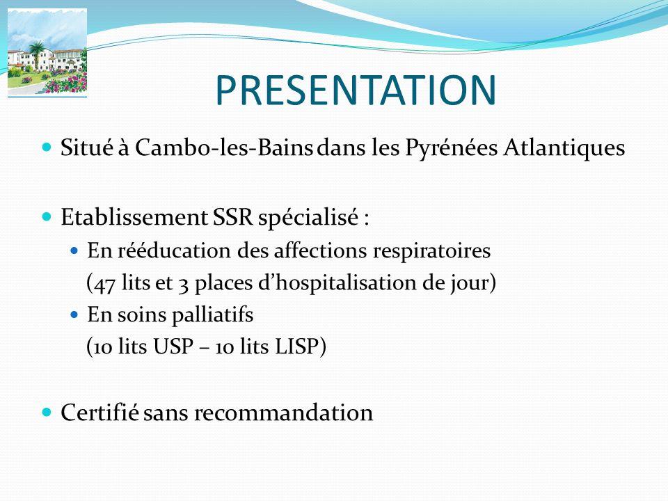PRESENTATION Situé à Cambo-les-Bains dans les Pyrénées Atlantiques