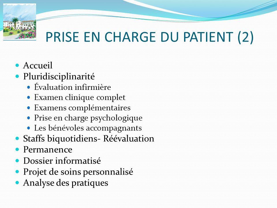 PRISE EN CHARGE DU PATIENT (2)