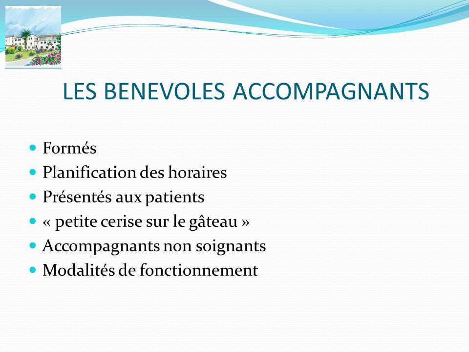 LES BENEVOLES ACCOMPAGNANTS