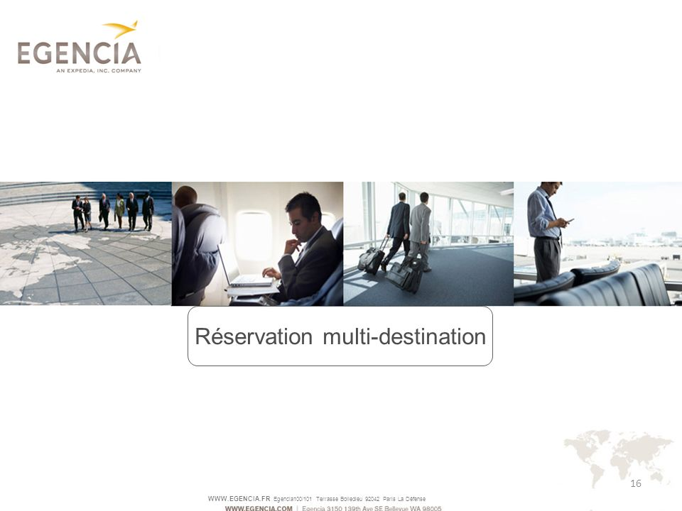 Réservation multi-destination