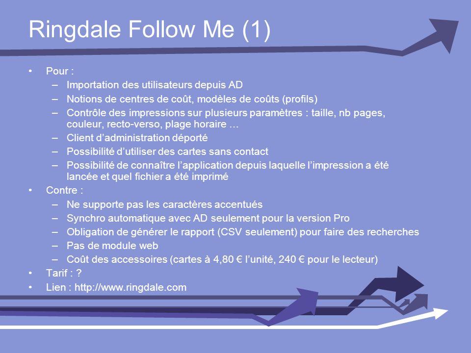 Ringdale Follow Me (1) Pour : Importation des utilisateurs depuis AD