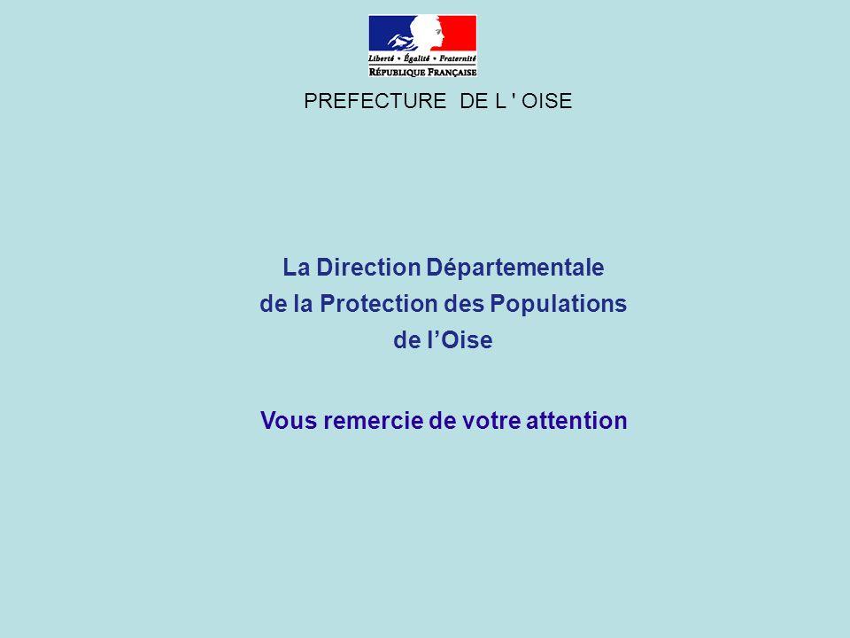 La Direction Départementale de la Protection des Populations