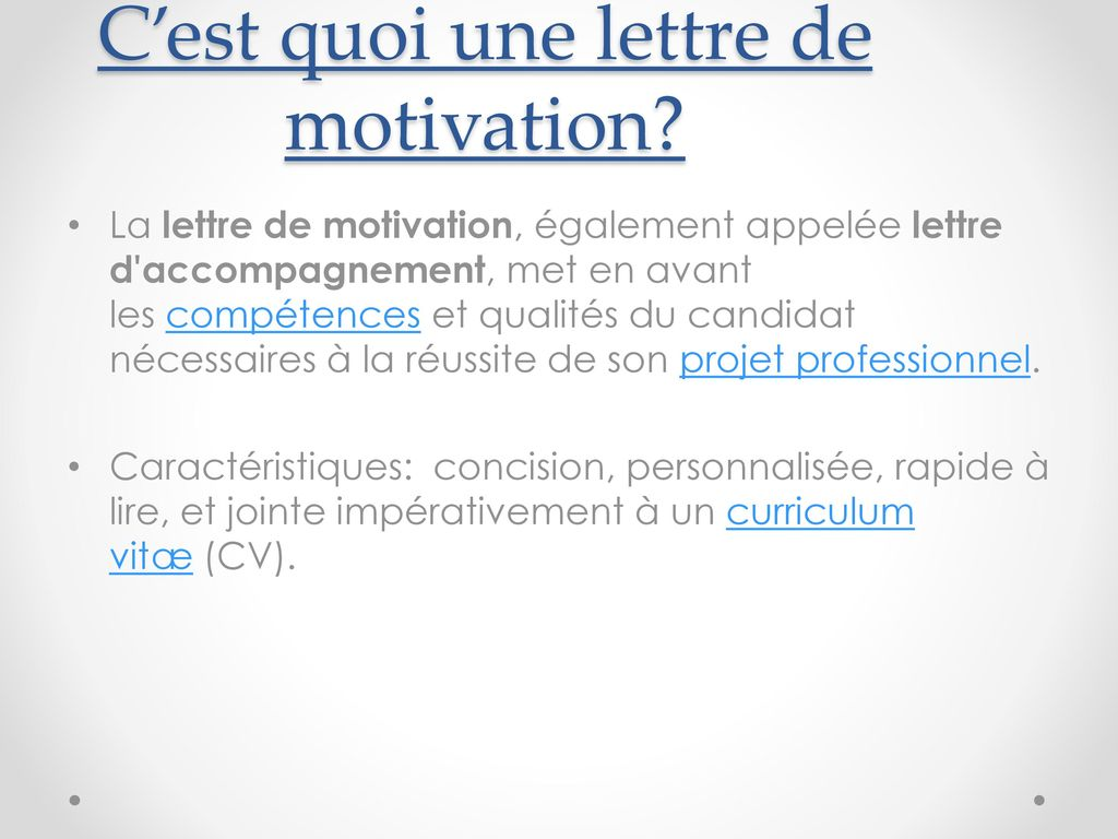 lettre de motivation spontan u00e9e