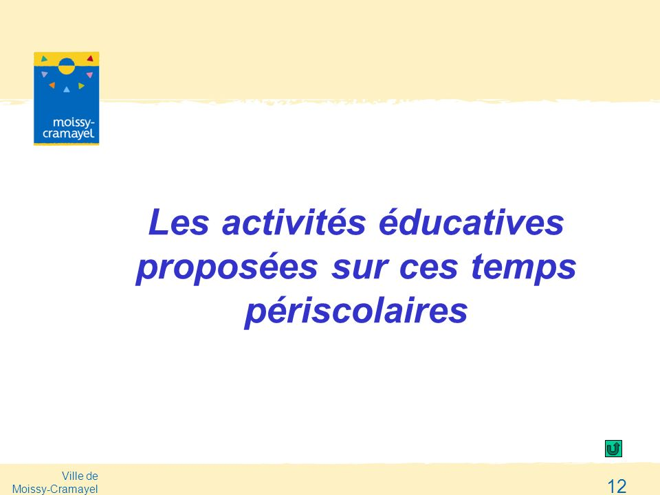Les activités éducatives proposées sur ces temps périscolaires