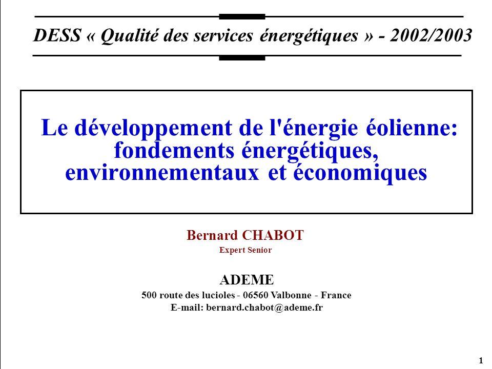 Bernard CHABOT Expert Senior