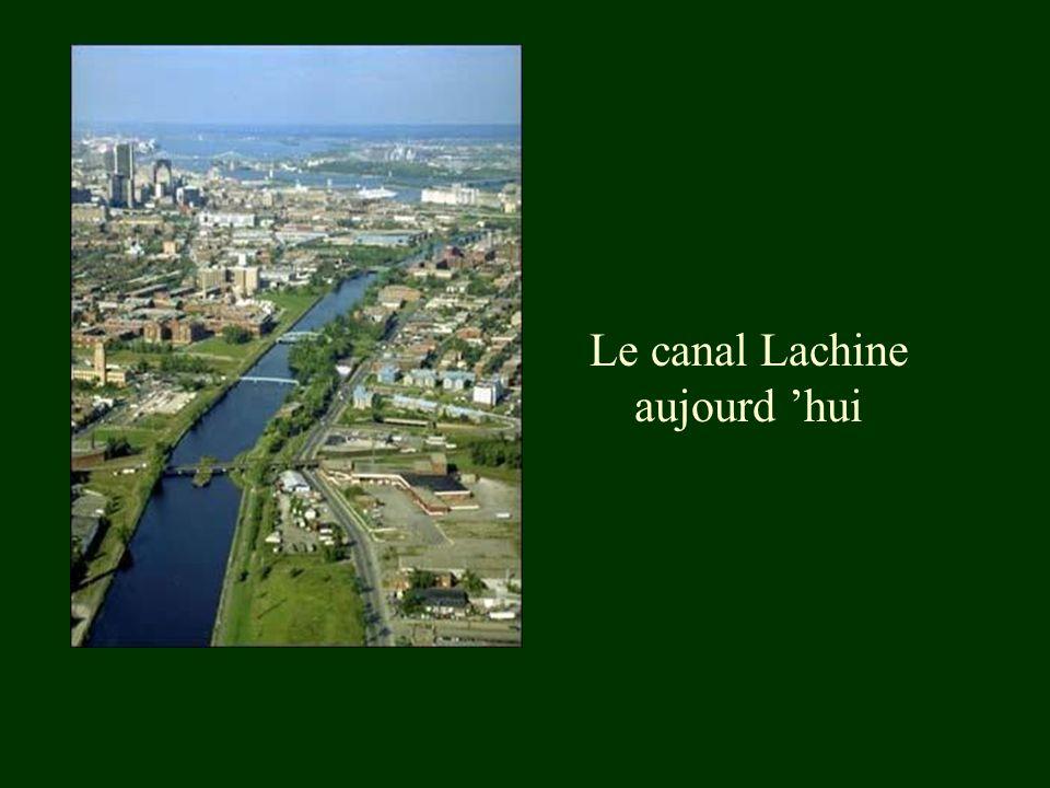 Le canal Lachine aujourd 'hui