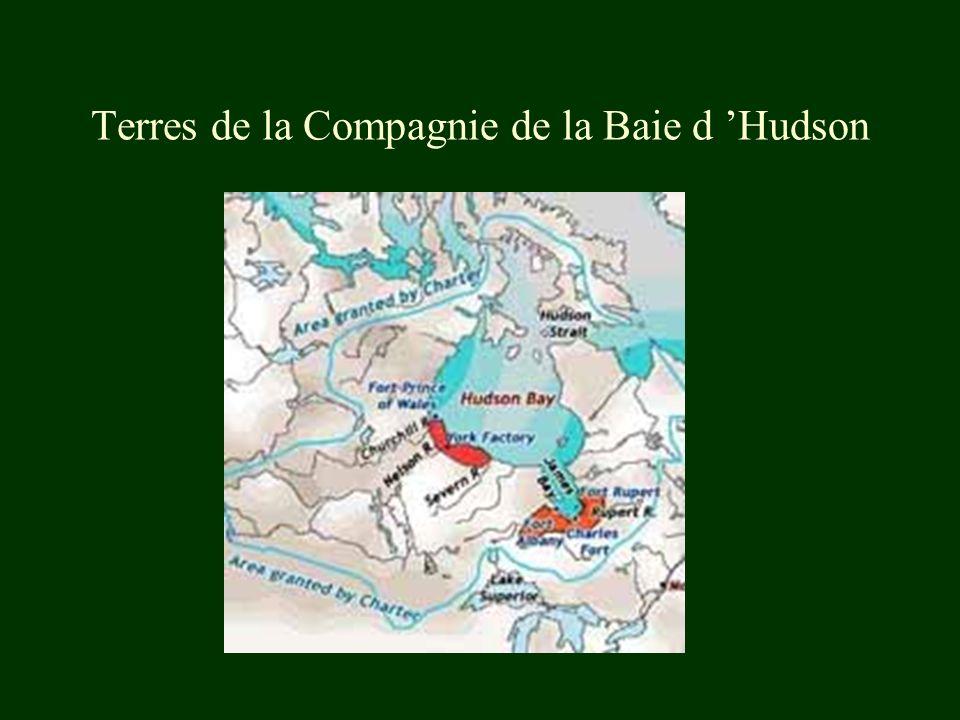 Terres de la Compagnie de la Baie d 'Hudson