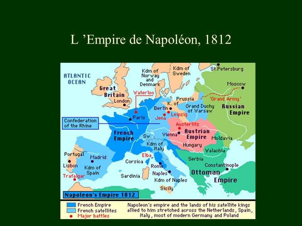 L 'Empire de Napoléon, 1812