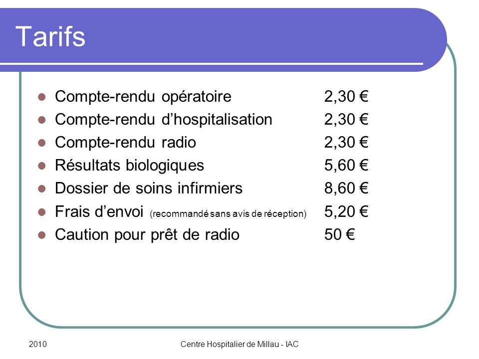 Centre Hospitalier de Millau - IAC