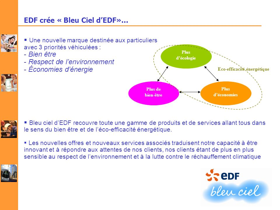 EDF crée « Bleu Ciel d'EDF»…