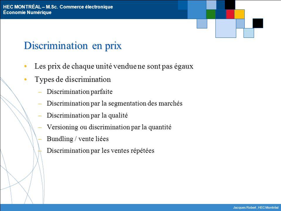 Discrimination en prix