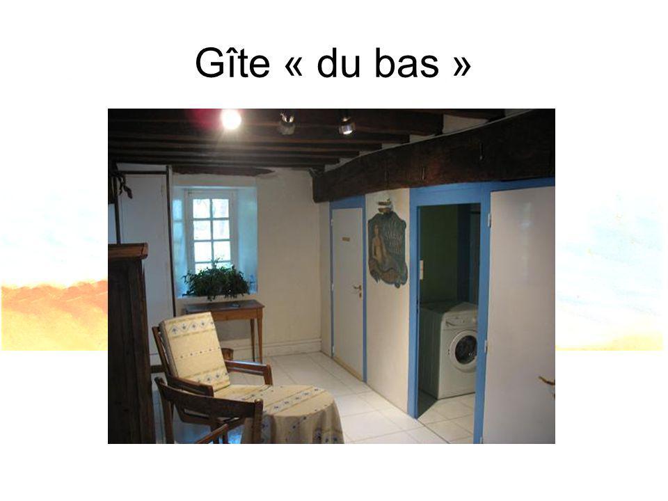 Gîte « du bas »