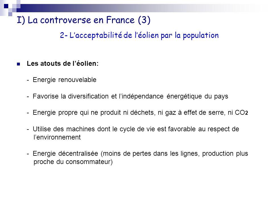 I) La controverse en France (3)