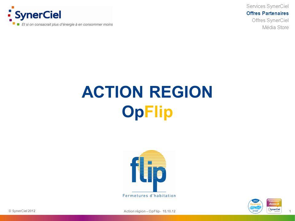 Action région – OpFlip- 18.10.12