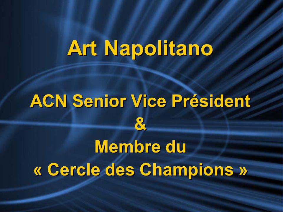 ACN Senior Vice Président « Cercle des Champions »