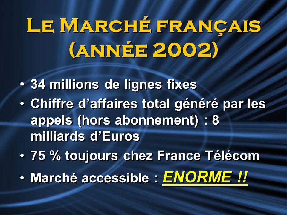 Le Marché français (année 2002)