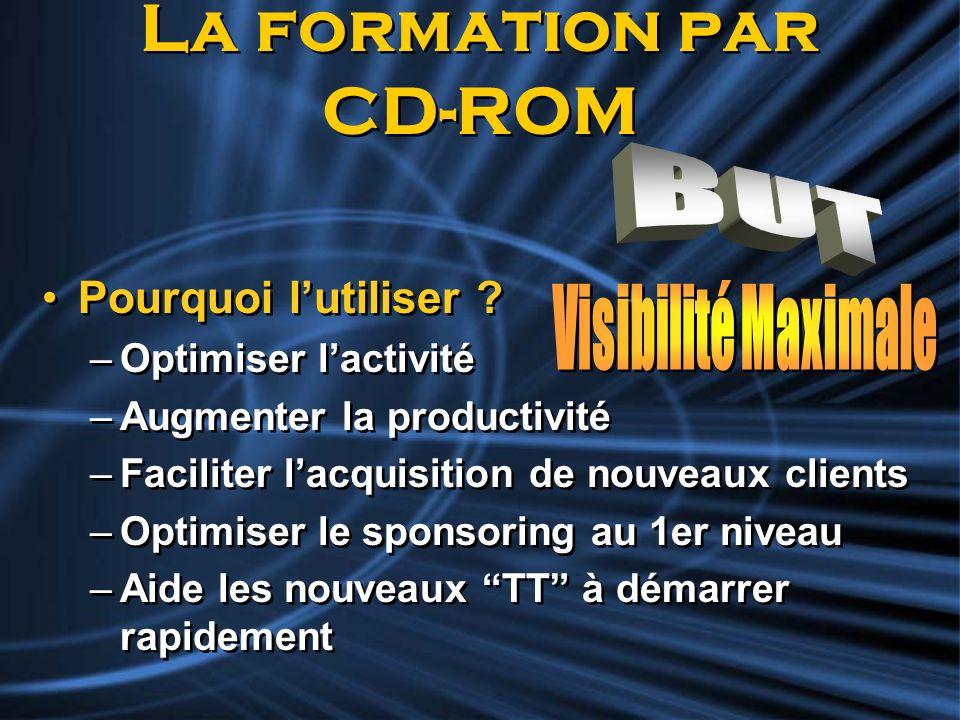 La formation par CD-ROM