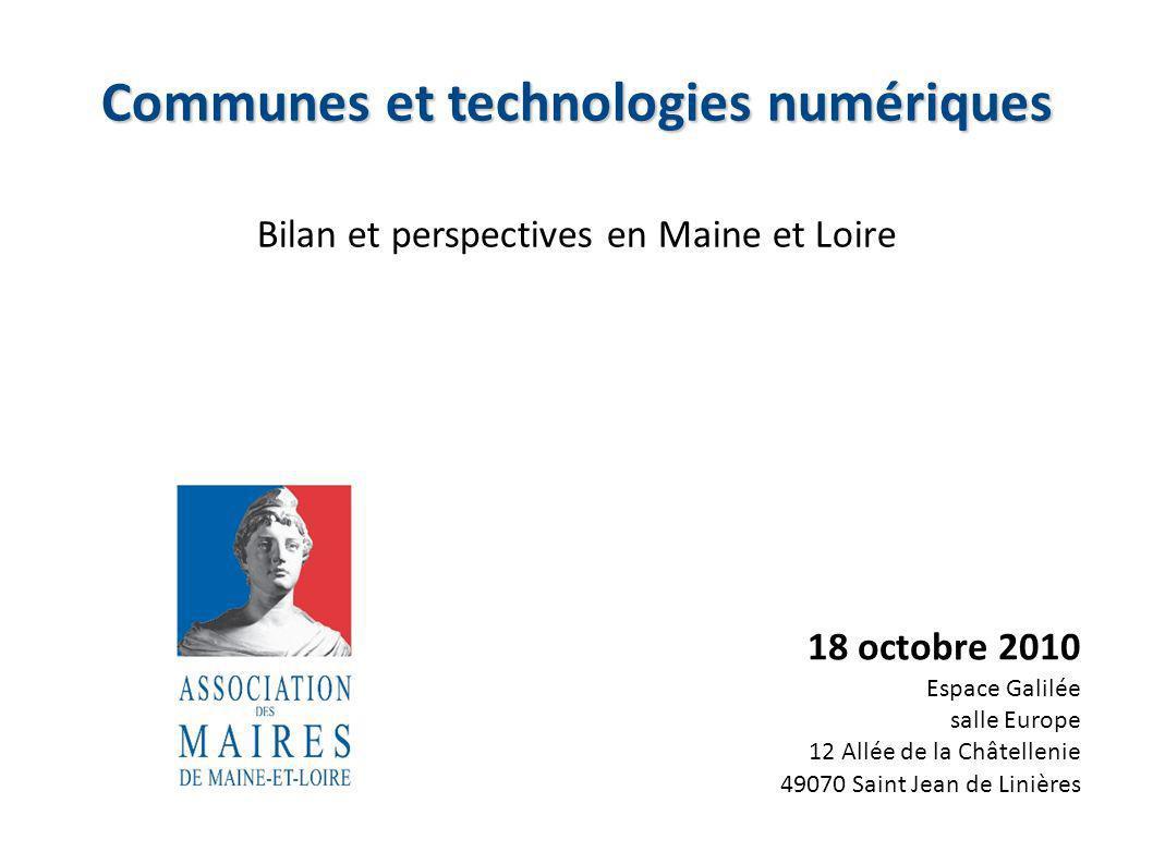 Communes et technologies numériques