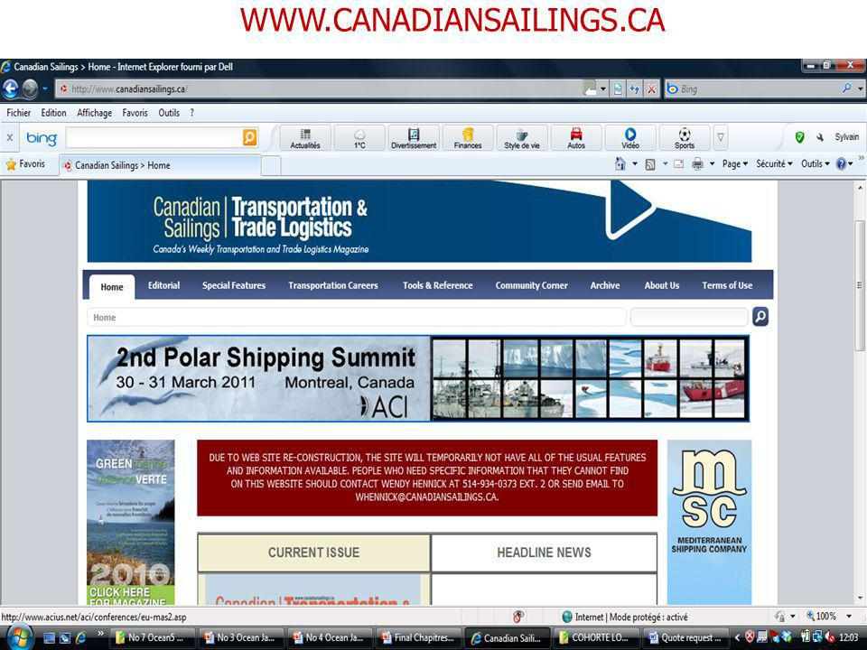 WWW.CANADIANSAILINGS.CA