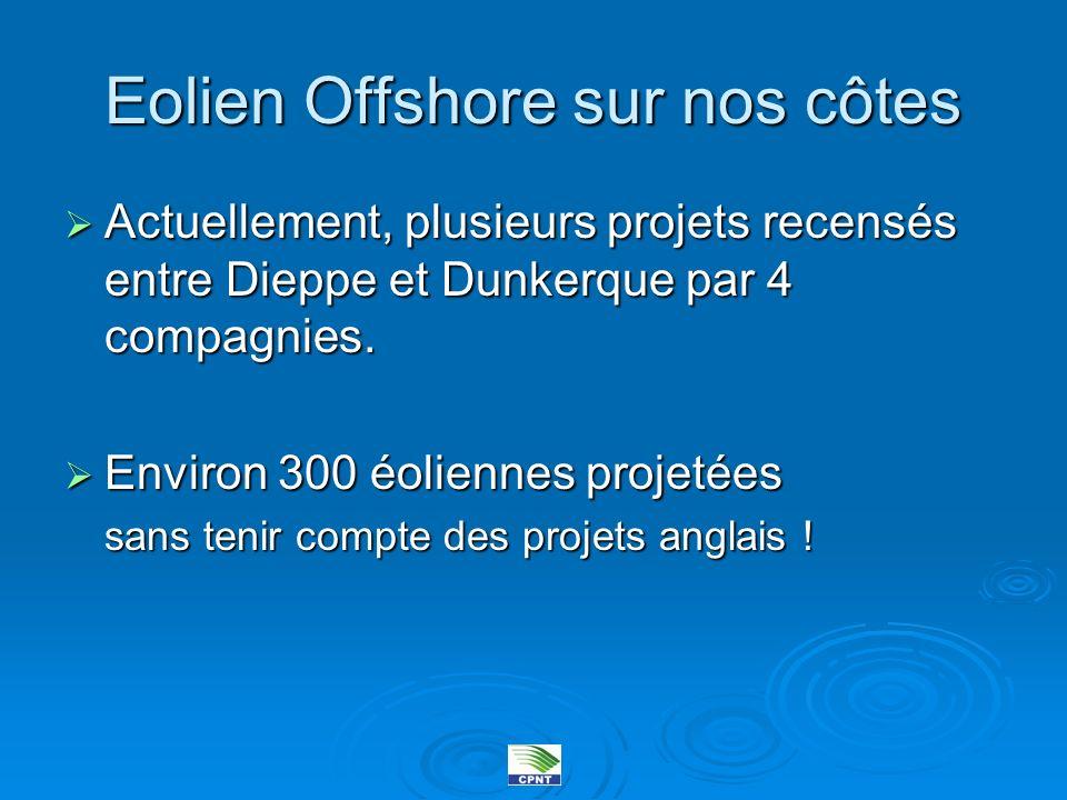 Eolien Offshore sur nos côtes