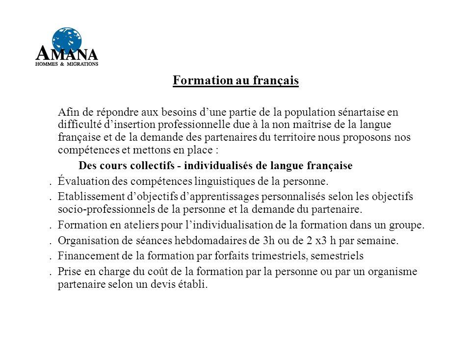 Formation au français
