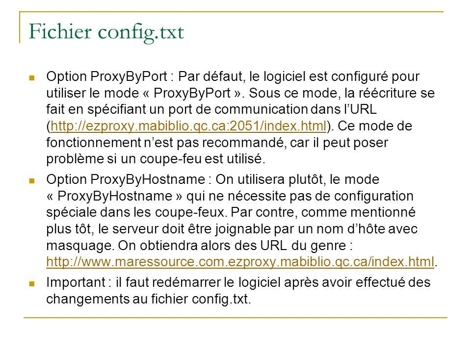 Fichier config.txt