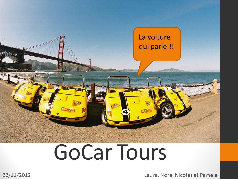 GoCar Tours La voiture qui parle !! 22/11/2012