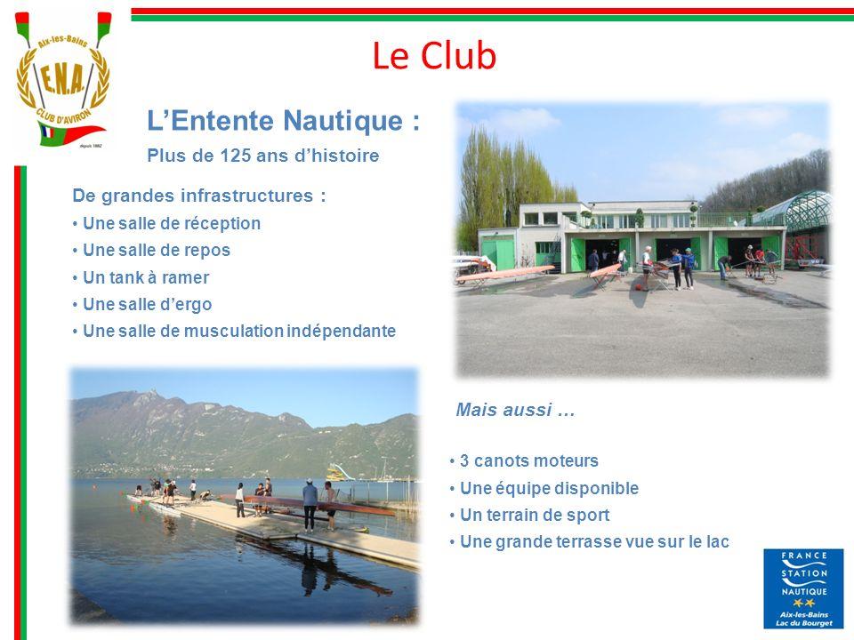 Le Club L'Entente Nautique : Plus de 125 ans d'histoire