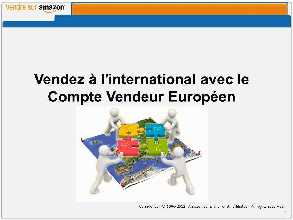 Vendez à l international avec le Compte Vendeur Européen