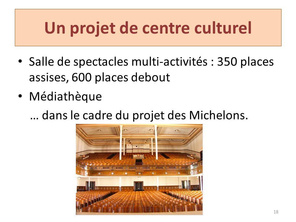 Un projet de centre culturel