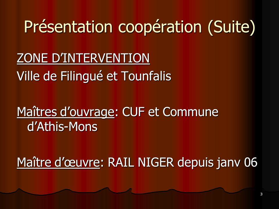Présentation coopération (Suite)