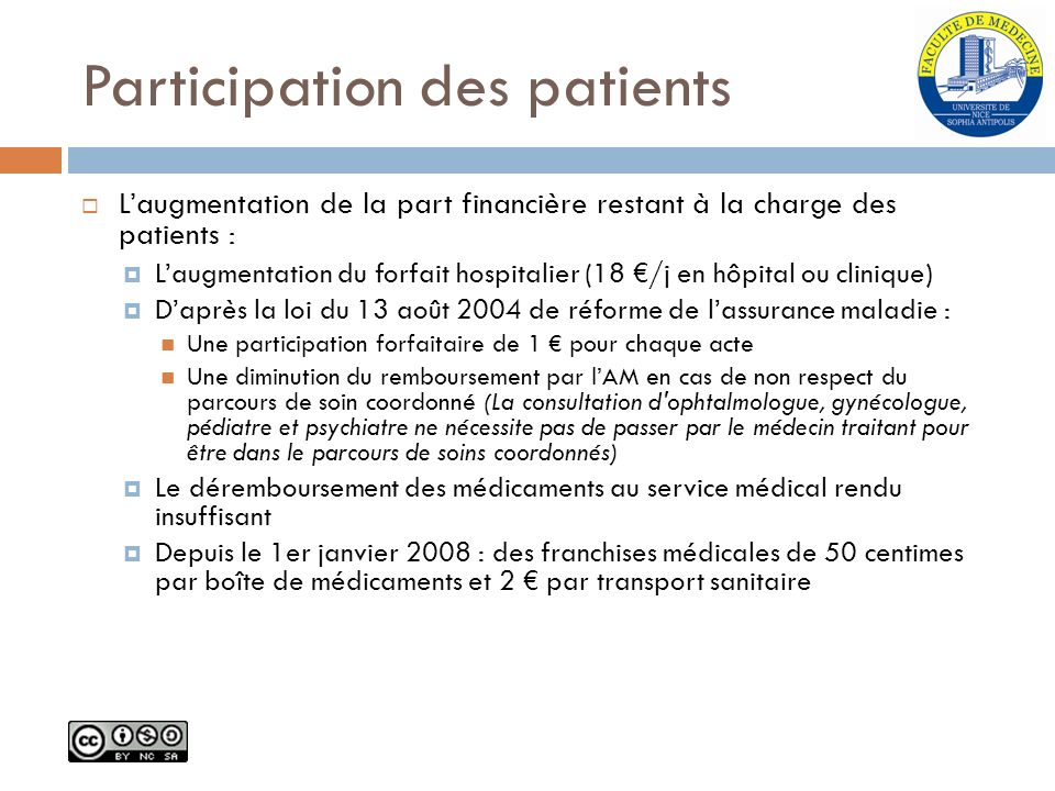 Participation des patients