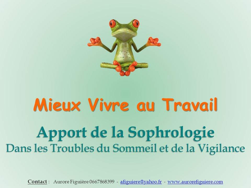 Apport de la sophrologie ppt video online t l charger - Trouble du sommeil que faire ...