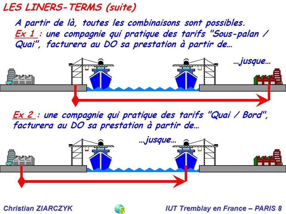 LES LINERS-TERMS (suite)