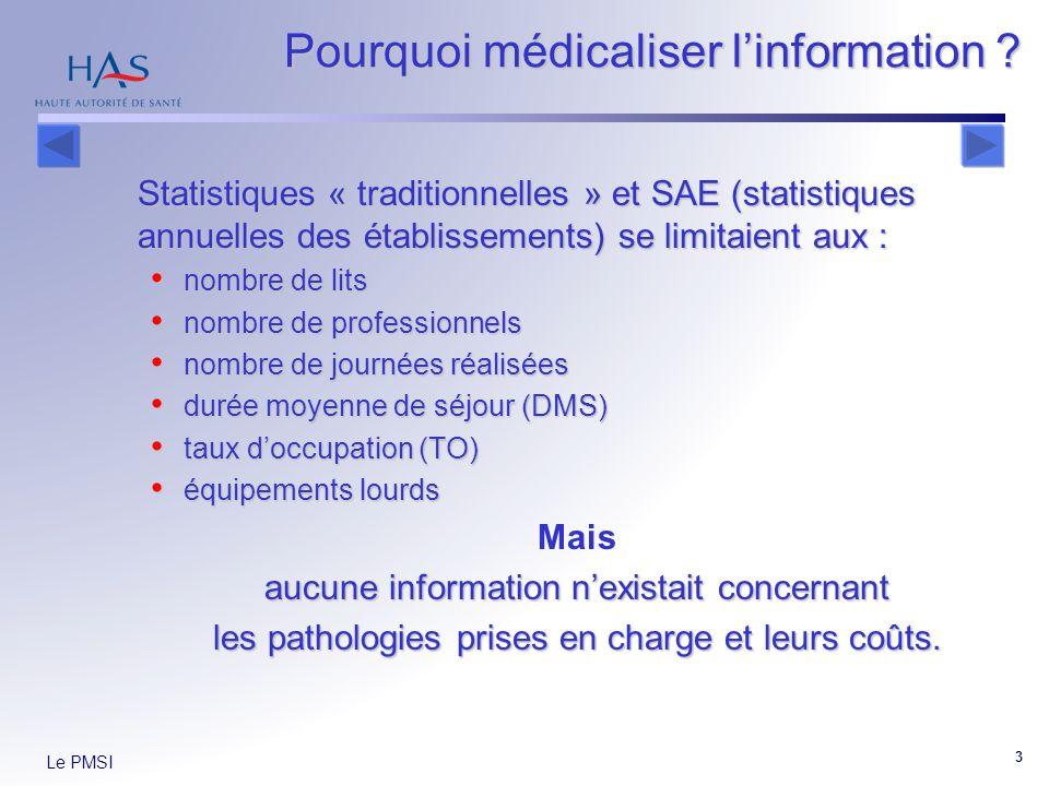 Pourquoi médicaliser l'information