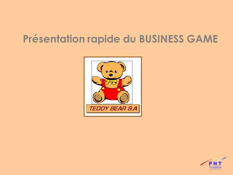 Présentation rapide du BUSINESS GAME