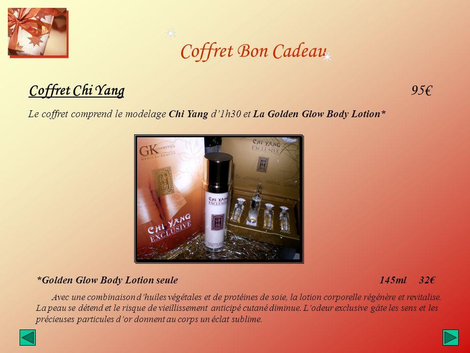 Coffret Bon Cadeau Coffret Chi Yang 95€